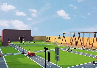 新彩苑幼儿园装修设计案例图