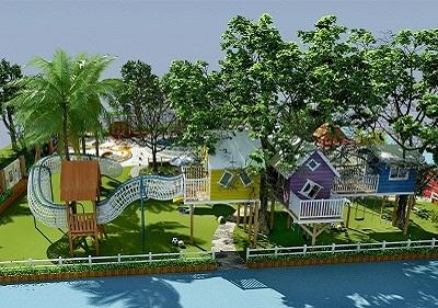 大型幼儿园玩具效果图 户外游乐设施