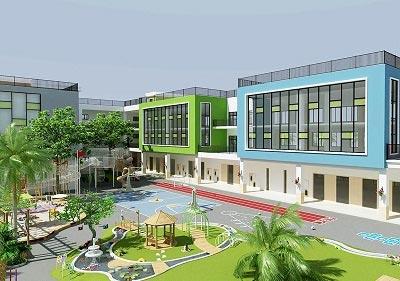 贵州遵义市红英幼儿园设计案例图