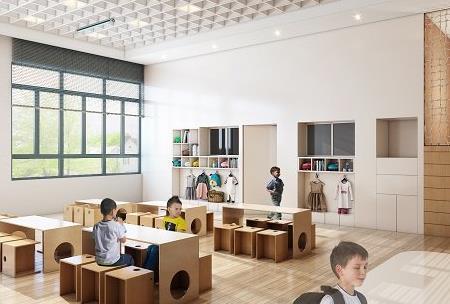 了解一下幼儿园设计装修是如何展现自己的特色的!