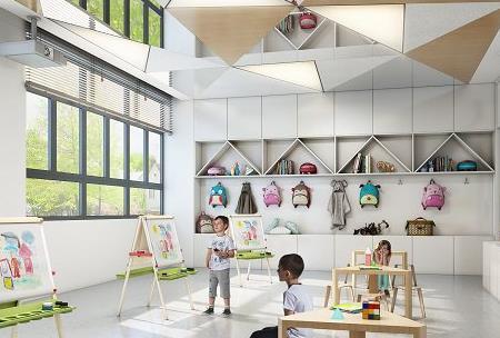 从细节和空间风格上去做幼儿园设计?