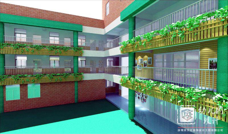 幼儿园外墙图片_深圳市第三幼儿园(总园)-深圳市大正装饰设计工程有限公司